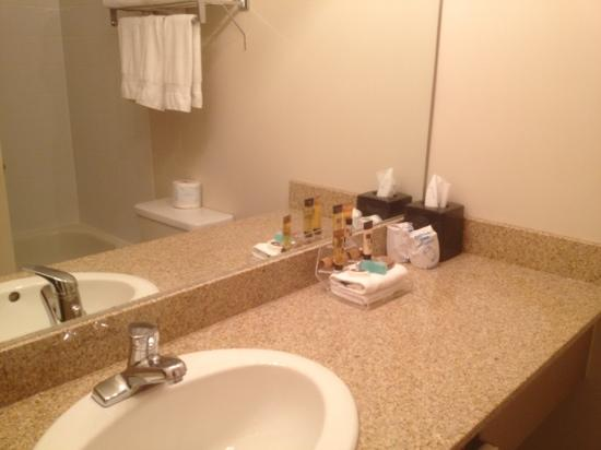 Service Plus Inn & Suites Grande Prairie: generous bathroom amenities
