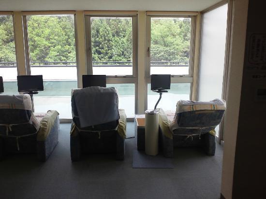 Spa Resort Abukuma: TV付ソファー
