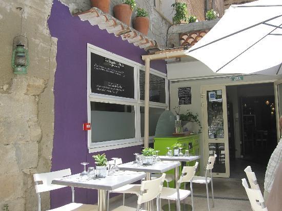 ArteModa Cinecitta: outside dining area