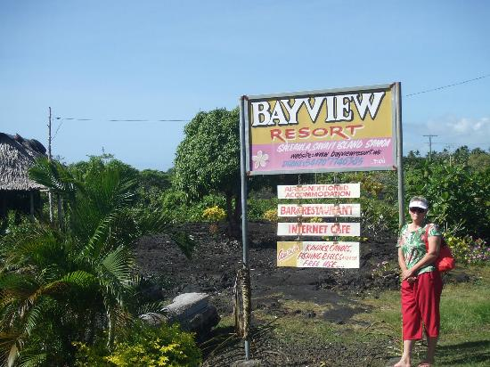 Bayview Resort: Entrance