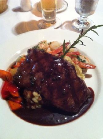The Kicking Horse Grill: il mio piatto