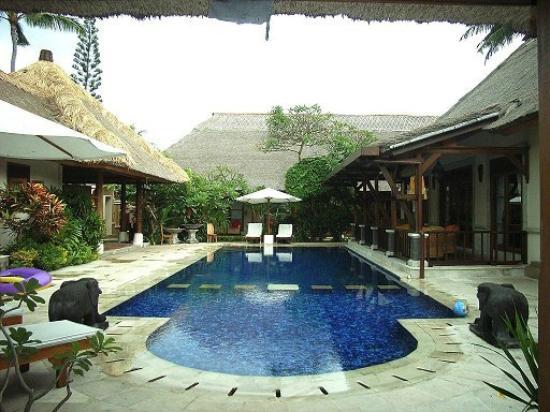 Bali Berg Villa : zwembad