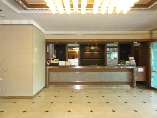 Prime Tourist Hotel: ロビー