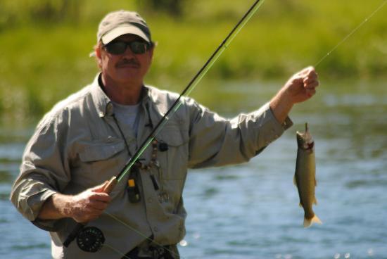Flat Creek Ranch: trout fishing
