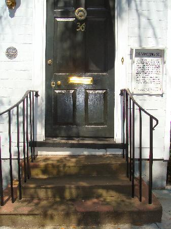 36 Meeting Street: Front entrance