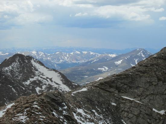Mount Evans Scenic Byway: up mount evans
