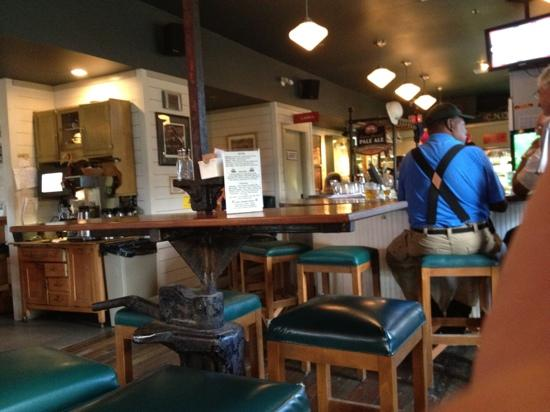 Grand Forks Station Pub: The bar at the Station Pub in Grand Forks