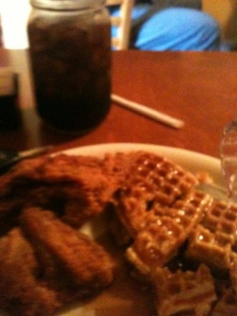 Lo Lo's Chicken and Waffles: #5 on the menu.