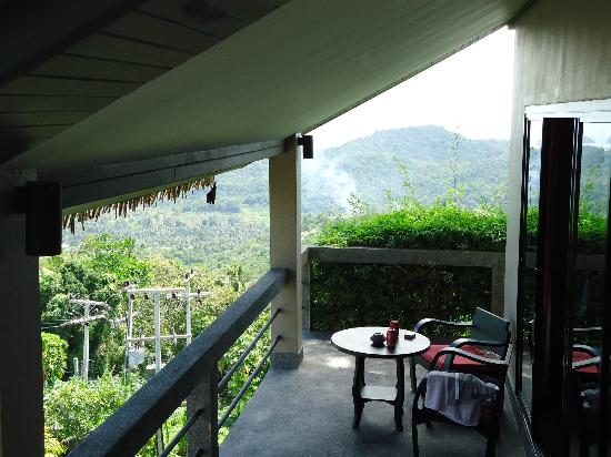 Asia Spirit Lodge & Spa : The view from our room