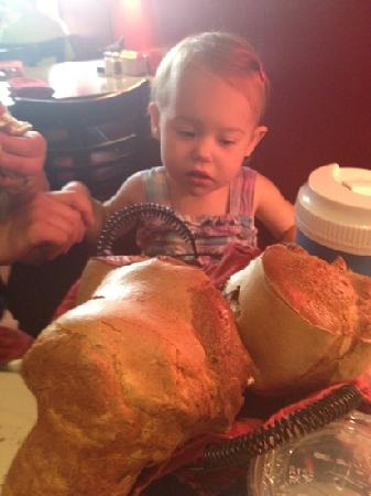 Popover Cafe : Popovers as big as the baby's head!
