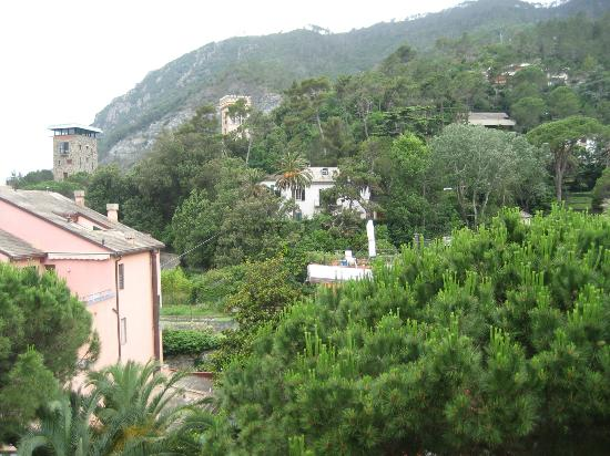View from room at Hotel Palme Monterosso