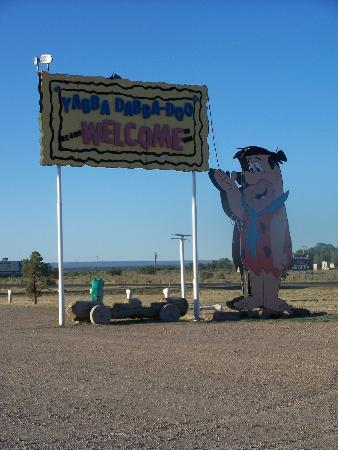 Flintstone Bedrock City: outside by entrance