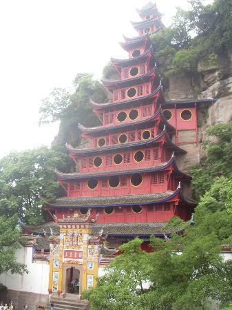 Travel China Guide : Shibaozhai, visit in the shore of the Yangtze River