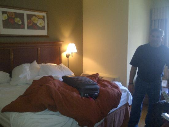 Country Inn & Suites By Carlson, Atlanta Downtown South at Turner Field: our room