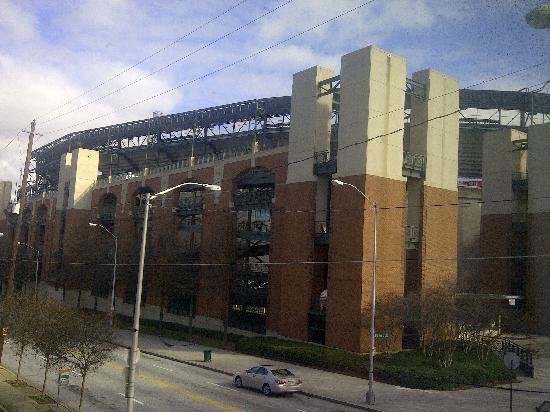 Country Inn & Suites By Carlson, Atlanta Downtown South at Turner Field: view across road