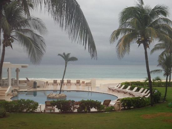 Xaman-ha Luxury Condominiums: vista del balcon al amanecer