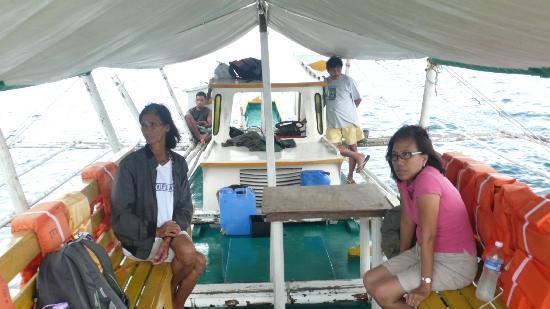 Mangenguey Island: transportation