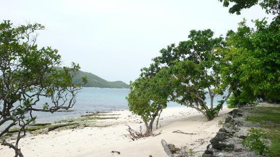 Mangenguey Island: beach