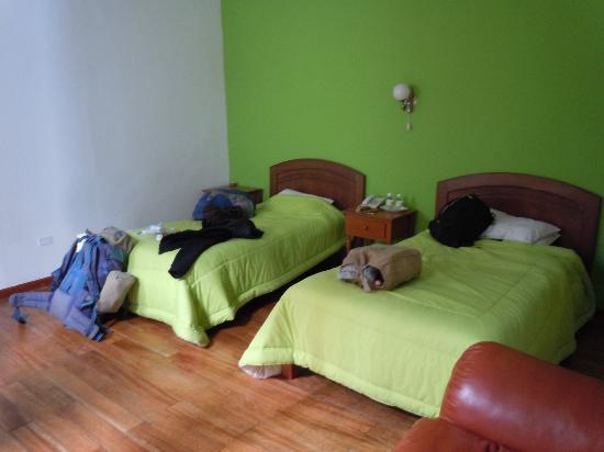 Tierra Mistica Arequipa : Twin room