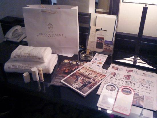 Old Continent Hotel: Plenty of 5* branded amenities