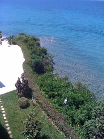 Messinian Bay Hotel : view from the room