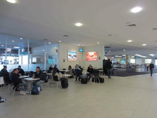 Hungry Jacks Newcastle Airport: General seating only
