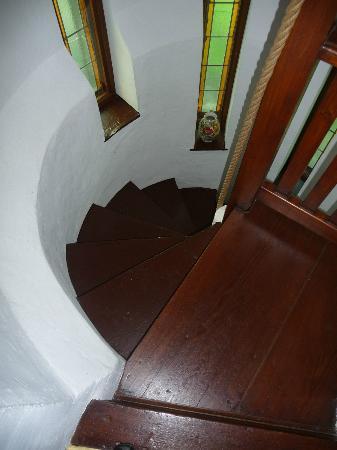 Koch's Villa: staircase