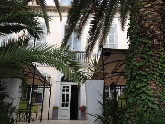 Les Palmiers: hotel front