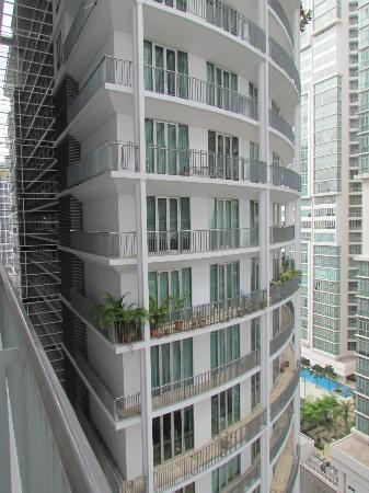 Ascott Kuala Lumpur : hotel facade