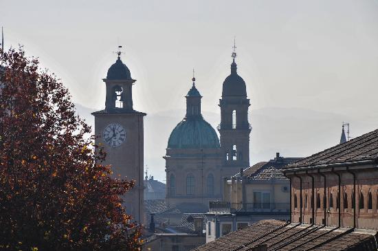 Mercure Reggio Emilia Centro Astoria: View from the roof of the Mercura Astoria