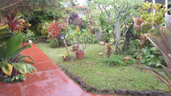 Hotel Orongo: más vistas de los jardines