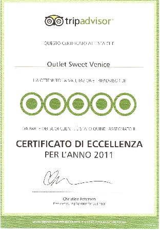 Outlet Sweet Venice: Eccellenza 2011