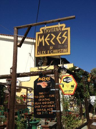 MEZES by Alex&Christine : Restaurant Mezes By Alex And Christine
