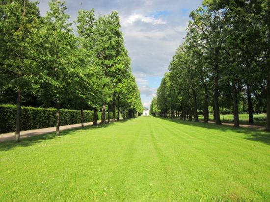 Herrenhäuser Gärten: große grüne Parkanlage