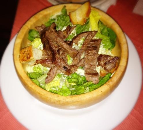 Sonora Grill: ensalada cesar con arrachera
