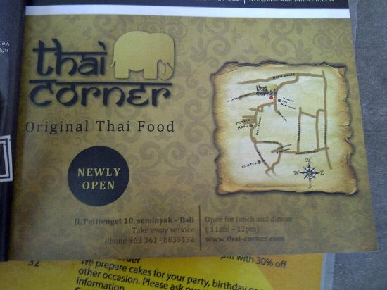 Thai Corner: Location