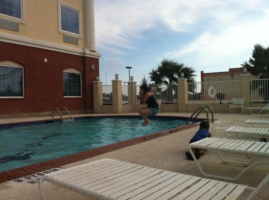 Comfort Inn Austin: Vacaciones dela familia