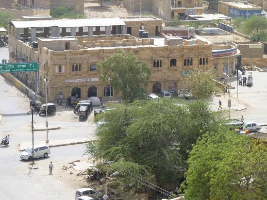 Hotel Neeraj: Hotel. Neeraj, picture taken from fort Jaisalmer