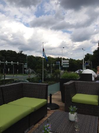 Van der Valk Hotel Arnhem : zon op t terras!