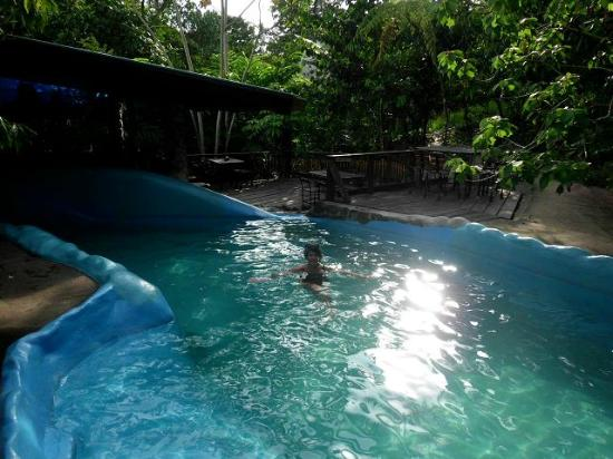 Omega Tours Eco Jungle Lodge: Naturwasserpool