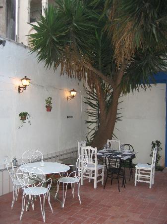 Restaurante El Pati: el rincon de los enamorados jejejeejej