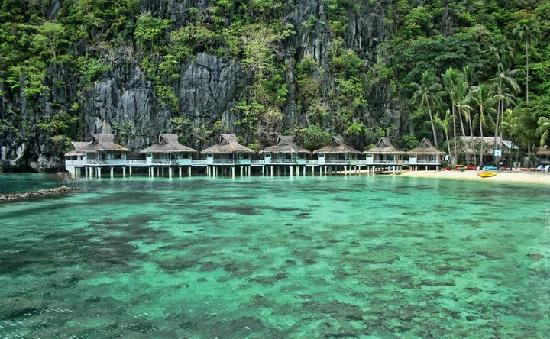 El Nido Resorts Miniloc Island: View of my room