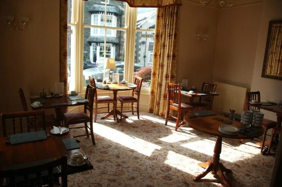Stonegarth Guest House: The dining room