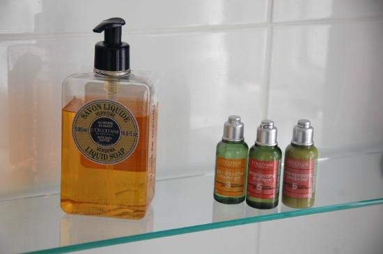 Stonegarth Guest House: Soap and shampoo provided