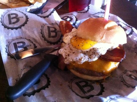 B Spot Burgers: great burger!
