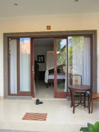 Indira Cottage: my room's terrace
