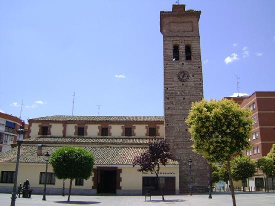 sitio Virgen desprotegido en Móstoles