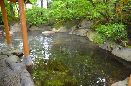 Yumoto Choza: 露天風呂