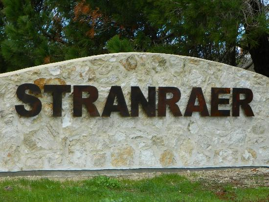 Stranraer Homestead: Name of the B&B
