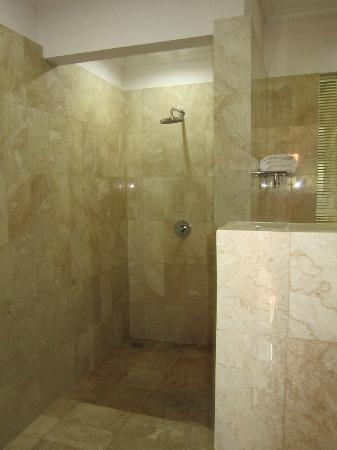 Indira Cottage: shower